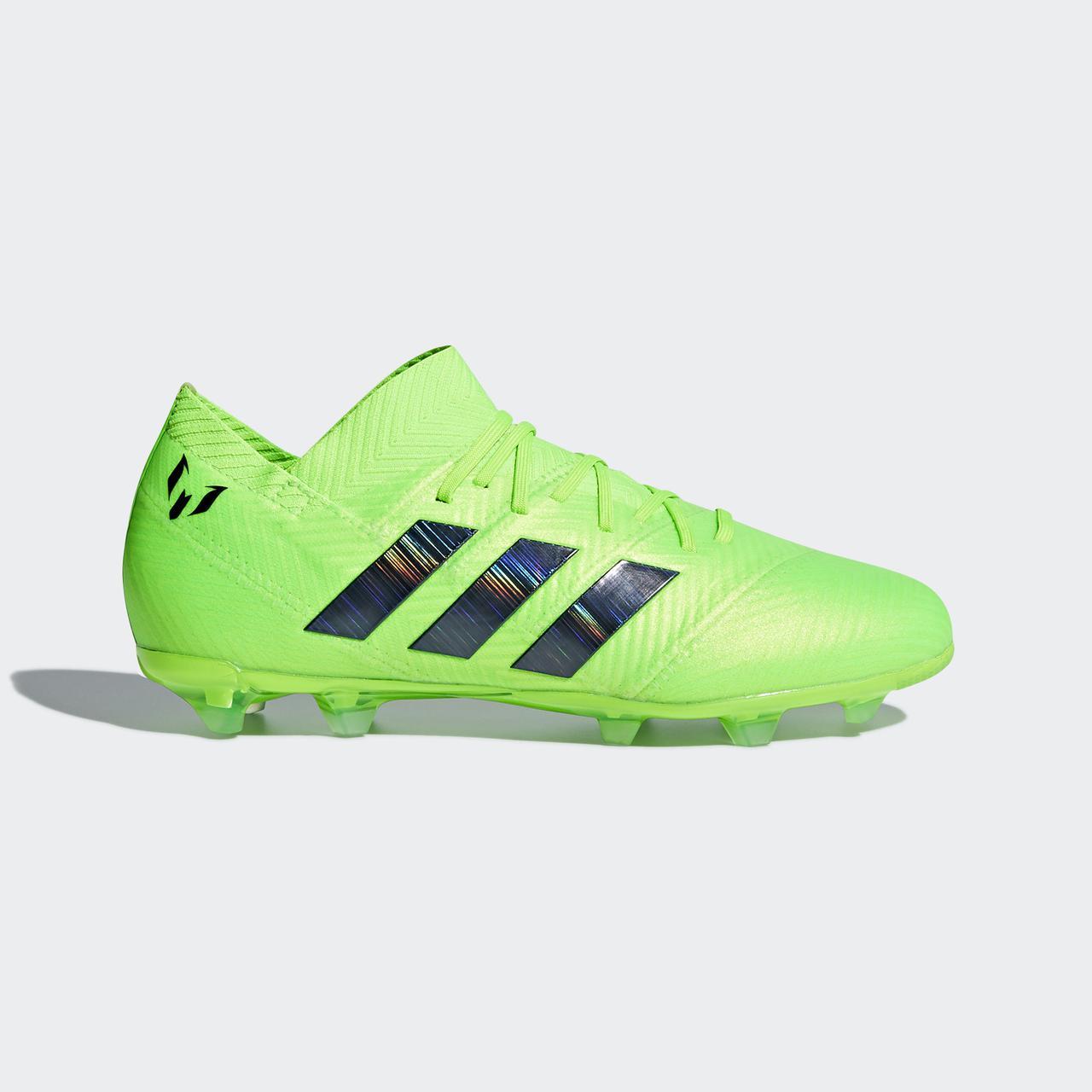 e80283f99955 Детские футбольные бутсы Adidas Performance Nemeziz Messi 18.1 FG (Артикул   DB2361)