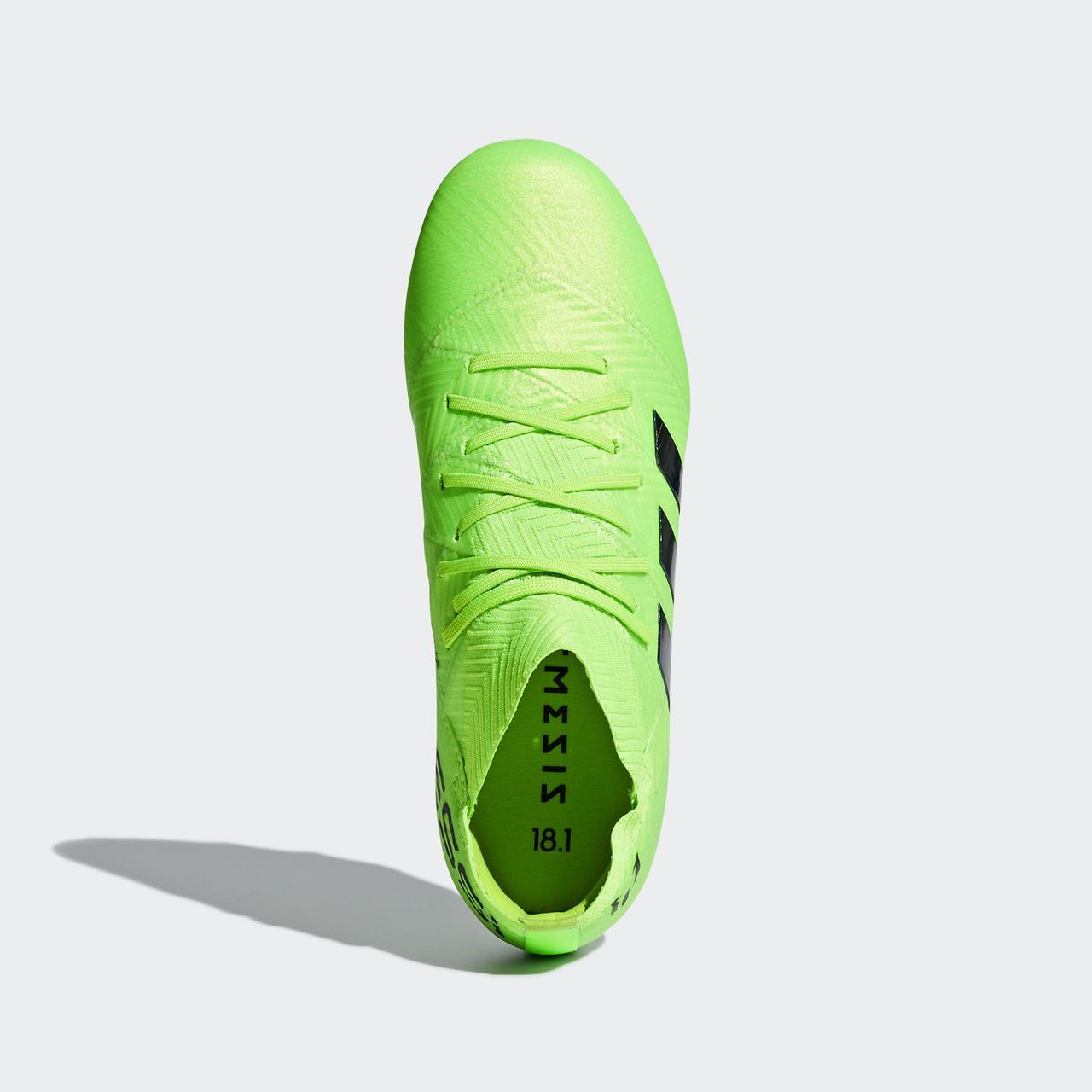 ea4b25460ddd Детские футбольные бутсы Adidas Performance Nemeziz Messi 18.1 FG (Артикул   DB2361), ...