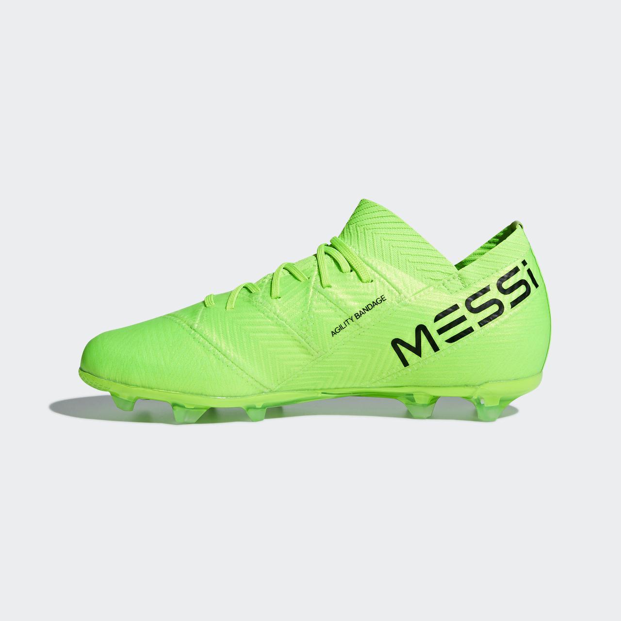 ... фото Детские футбольные бутсы Adidas Performance Nemeziz Messi 18.1 FG  (Артикул  DB2361), ... 8d97d6a0dc9