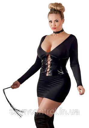 Короткое платье черное cottelli collection 3XL, фото 2