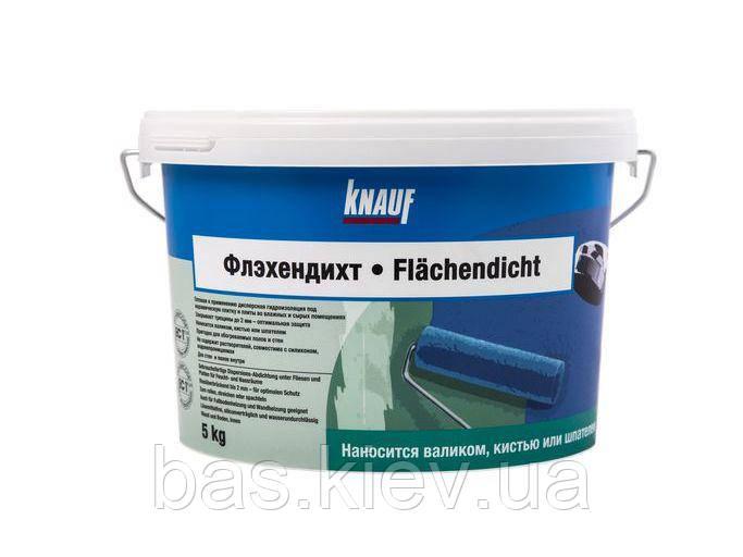 KNAUF Гидроизоляция ФЛЕХЕНДИХТ, 5 кг