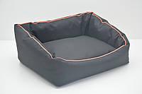 Лежак для собак Шик чорний, фото 1