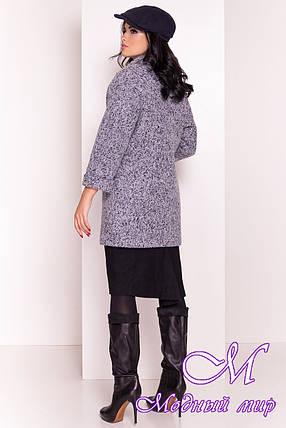 Женское модное осеннее пальто (р. S, M, L) арт. Кларенс крупное букле - 9799, фото 2