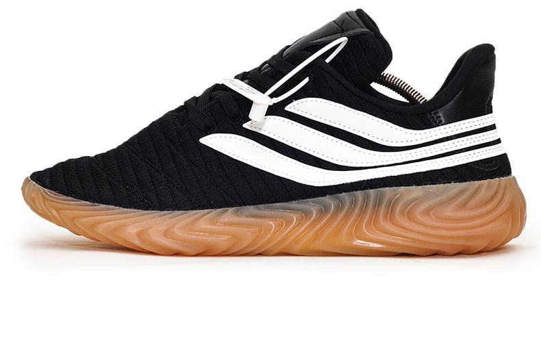 Мужские Кроссовки Adidas Sobakov Black White Gum — в Категории ... 65dced1377bd1