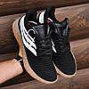 Чоловічі кросівки Adidas Sobakov Black/White/Gum, фото 3