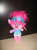 Мягкая игрушка тролль Розочка , 26 см