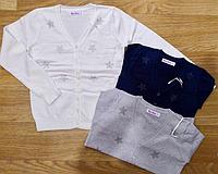 Кардиган  для девочек , в  составе шерсть, Венгрия ,Nice Wear, рр.4-6-8-10-12 лет., арт. GJ-977 ,