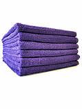 Махровое полотенце банное 70*140 фиолетовое Узбекистан, фото 2