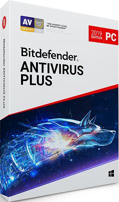 Bitdefender 2018 Antivirus Plus 3 ПК 12 месяцев