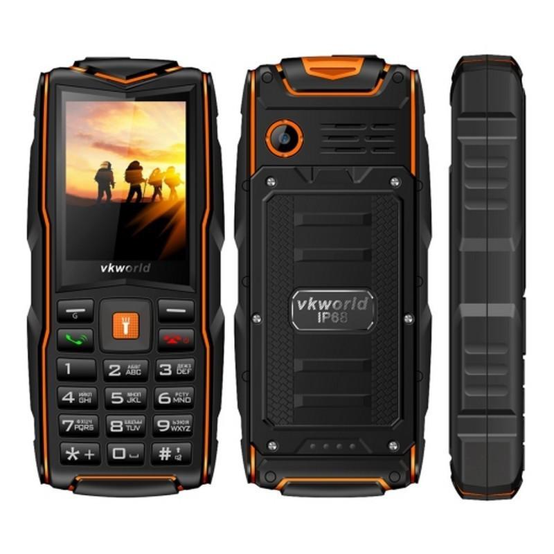 VKWorld Stone V3 NEW Orange IP54 3-SIM