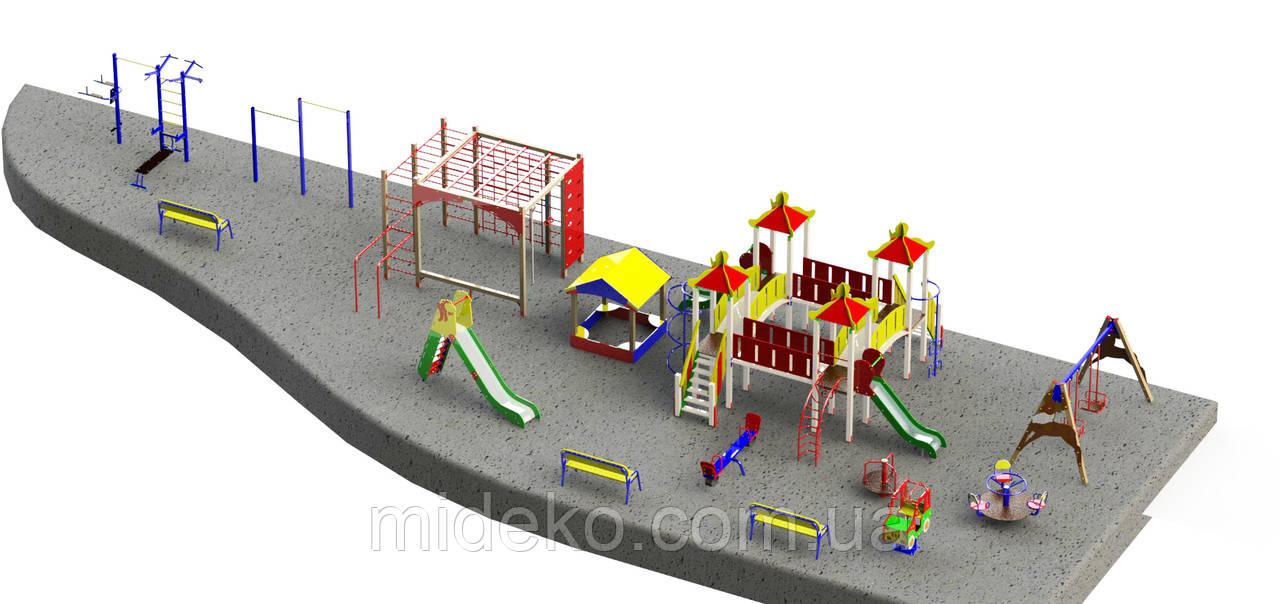 Детская площадка 2164