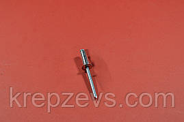 Заклепка Ф3.0 DIN 7337 з потайним буртиком