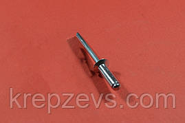 Заклепка Ф4.0 DIN 7337 з потайним буртиком