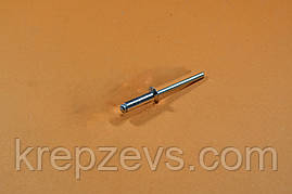 Заклепка Ф3.2 DIN 7337 з потайним буртиком