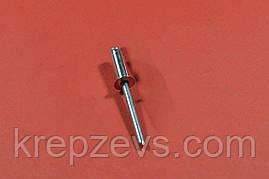 Заклепка Ф5.0 DIN 7337 з потайним буртиком