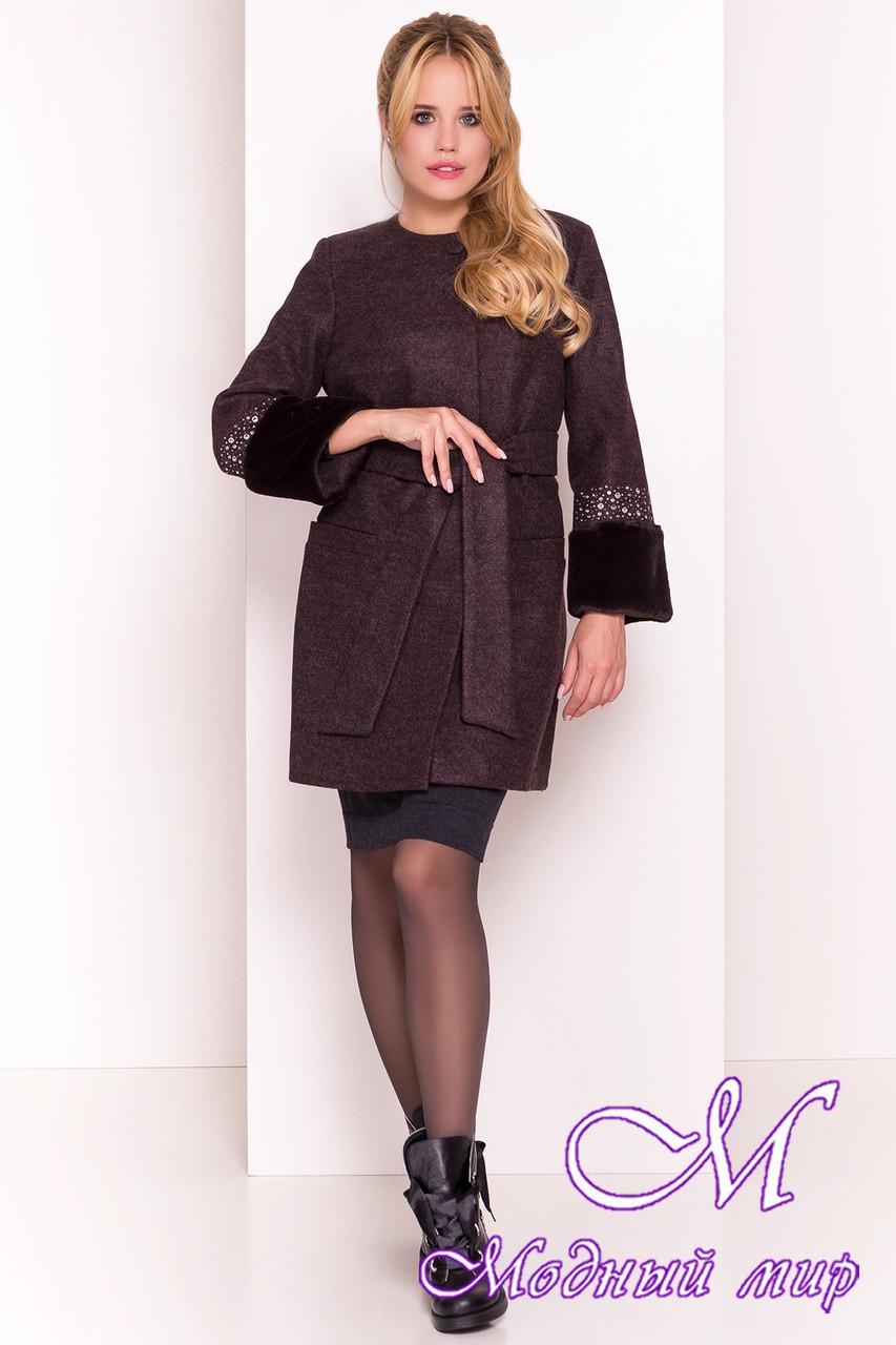 Элегантное женское демисезонное пальто (р. XS, S, M, L) арт. Амелия 4396 - 21451