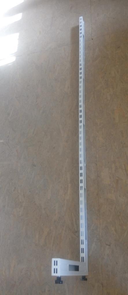 Стійка 1600х300 перфорована для металевих стелажів