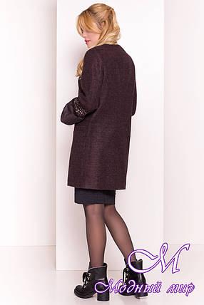 Элегантное женское демисезонное пальто (р. XS, S, M, L) арт. Амелия 4396 - 21451, фото 2