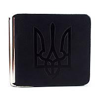 Зажим для денег с гербом Z1-01 (черный)