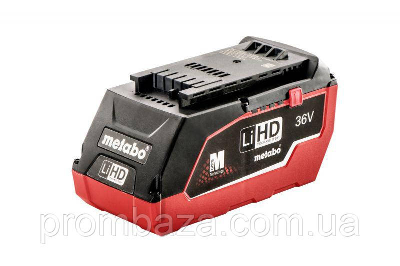 Аккумуляторная батарея Metabo LiHD 36 V, 6.2 Ач