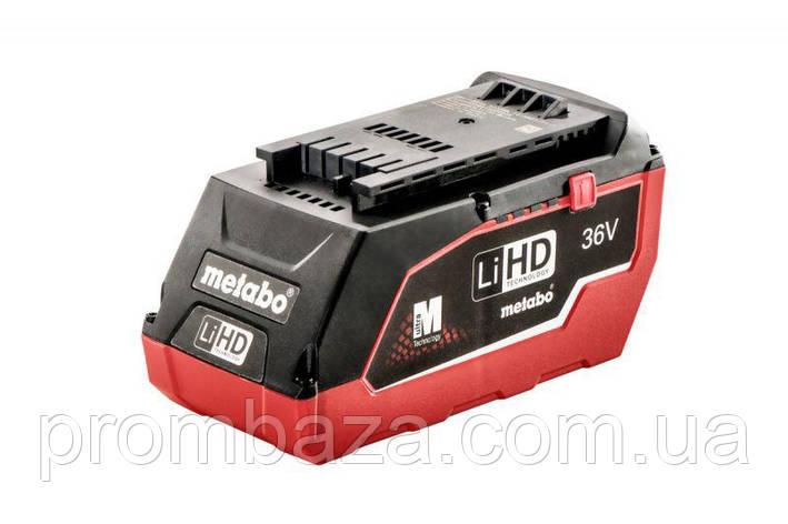 Аккумуляторная батарея Metabo LiHD 36 V, 6.2 Ач, фото 2