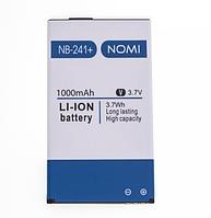 Оригинальный аккумулятор NB-241+ для Nomi i241+ 1000mAh