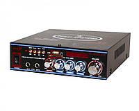 Усилитель звука UKC SN-308BT USB SD MP3 караоке Bluetooth