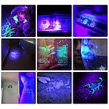 Ультрафиолетовый светодиодный фонарик, фото 5