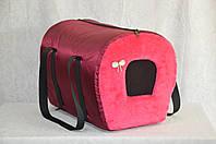 Сумка-туннель Мех для переноски котов и собак