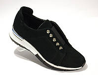 Туфли из зеленой замши, фото 1