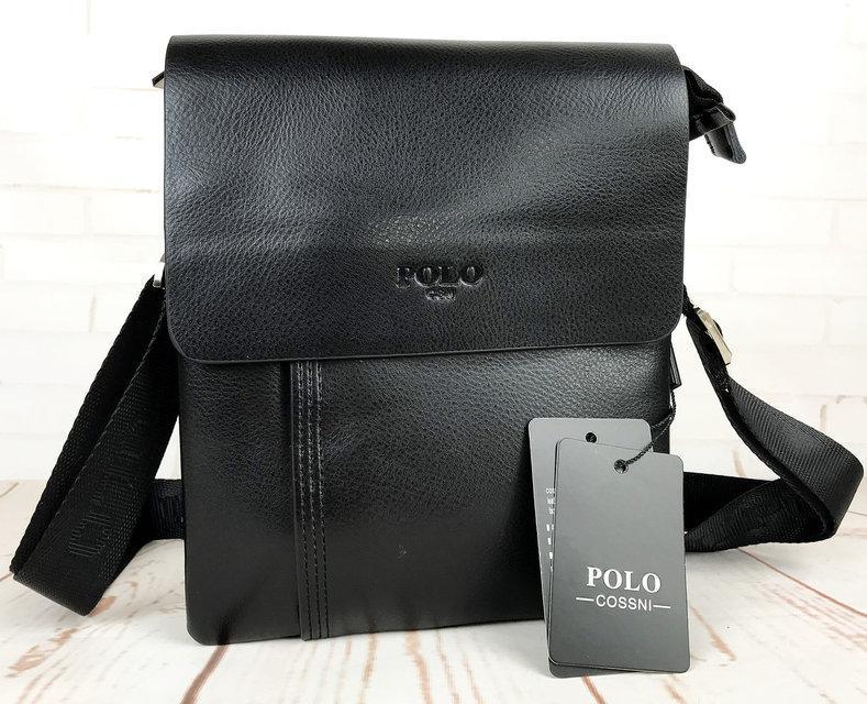 Небольшая мужская сумка - планшет Polo с ручкой. Стильные мужские сумки.  Большой выбор мужских сумок. 9b7cdd7d9d8ee