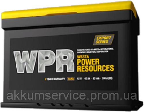 Автомобильный аккумулятор WPR 60AH R+ 600A