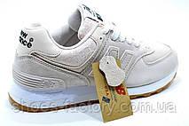 Женские кроссовки в стиле New Balance 574 Classic, Персиковый, фото 2
