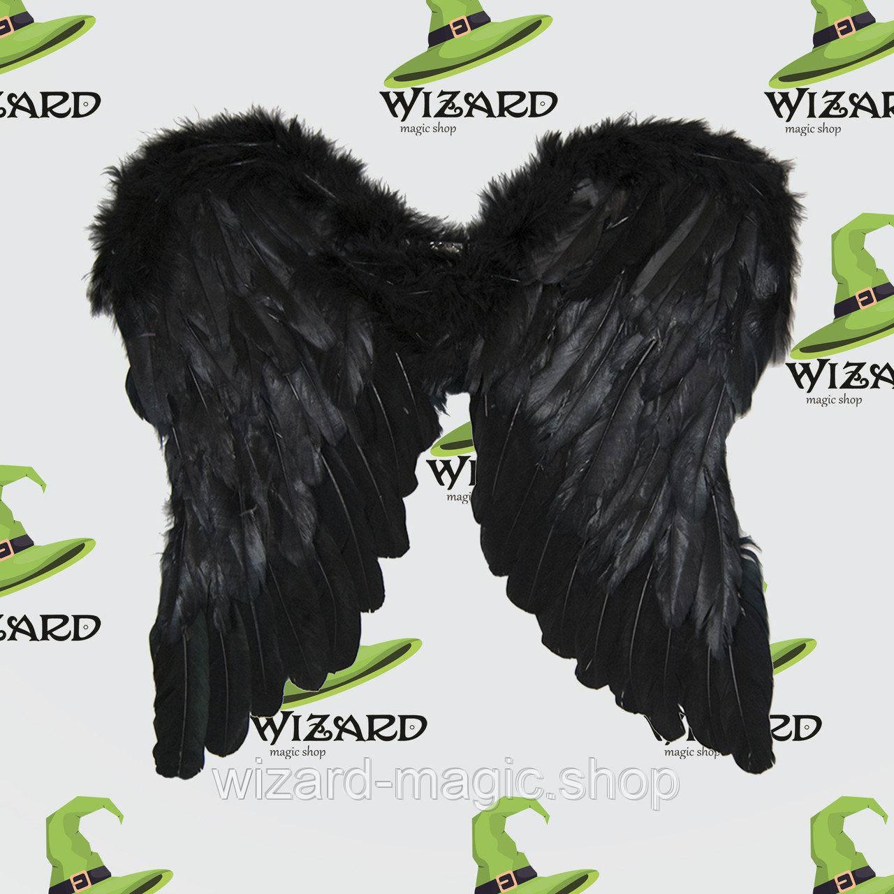 Крылья Амура средние (45х45см) черные