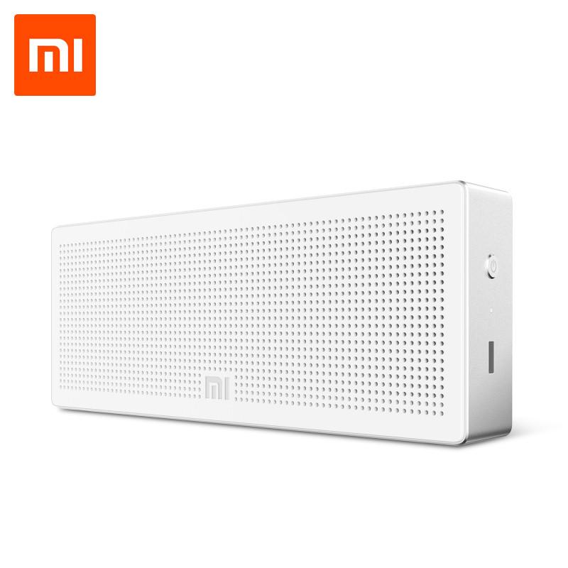 Портативная колонка XIAOMI Mi Square Box Bluetooth Speaker \ silver