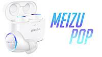 Meizu POP White Наушники True Wireless Bluetooth Sports Earphones (White), фото 1