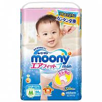 Moony подгузники – трусики Air Fit M  (6-11) кг, 58 шт. для детей начинающих ходить