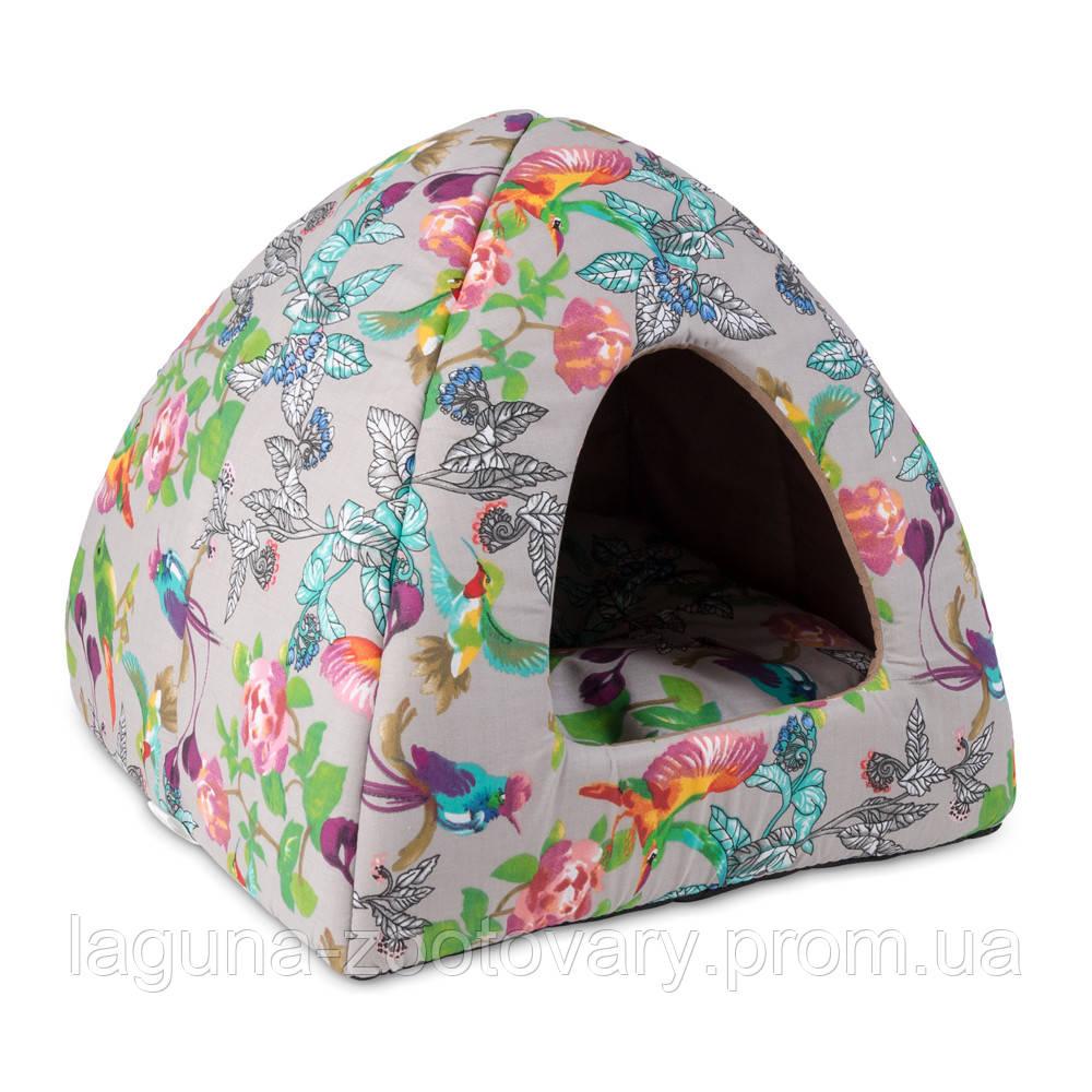 Дом - лежак МИЛА 38х38х36см для собак, кошек, котов и котят