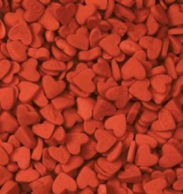 Посыпка сердечки красные 50 грамм, фото 2