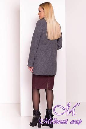 Качественное женское пальто осень весна (р. S, M, L) арт. Даймон 5377 - 36741, фото 2