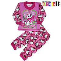 """Пижама для девочек """"Hello Kitty""""(начес)"""