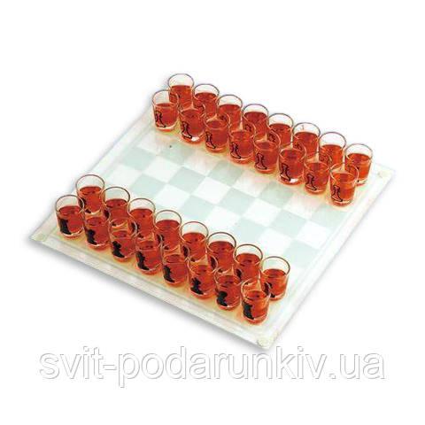 Пьяные шахматы рюмки алкогольные настольные для двоих GDS04