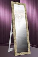 Напольное зеркало Зеркало настенное в ДЕРЕВЯННОЙ раме, настенное, габариты 61х176 см золото, фото 1