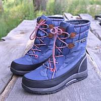 Зимние сапоги Jack Wolfskin р 29, детская зимняя обувь