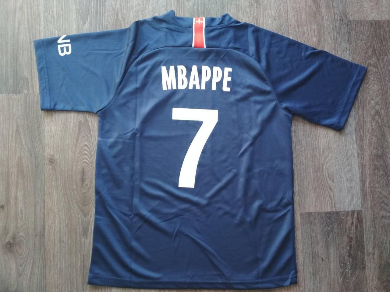Футбольная форма ПСЖ Mbappe (Мбаппе) сезон 2018-2019 синяя