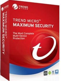 Trend Micro Maximum Security 2018 (1 ПК) лицензия 3 года