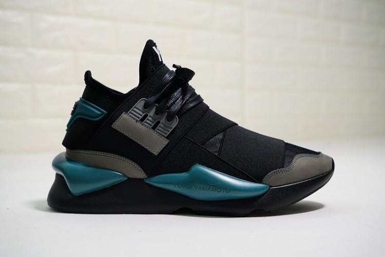 """Кроссовки Adidas Y-3 Qasa Kaiwa Chunky """"Black"""" (Черные)"""