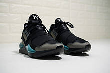 """Кроссовки Adidas Y-3 Qasa Kaiwa Chunky """"Black"""" (Черные), фото 2"""