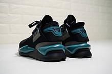 """Кроссовки Adidas Y-3 Qasa Kaiwa Chunky """"Black"""" (Черные), фото 3"""