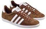 Чоловічі кросівки Adidas Gazelle Brown , розміри з 40 по46, фото 2